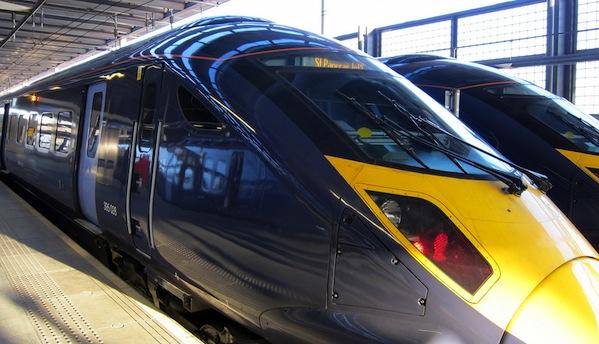 HS2 Train image